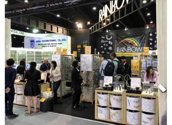 RAINBOW @ The Bangkok Gems and Jewelry Fair #61