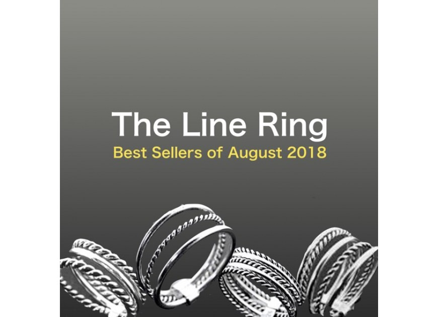 The Line Ring: Best Seller of August 2018