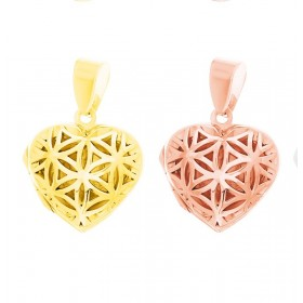 Seed of Life Locket - Rose gold or Gold Plated