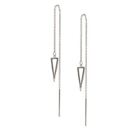Threader Earrings - Pyramid