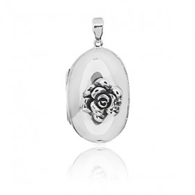 Rose Locket - Oval Large