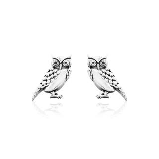 Animal Planet - Owl Stud