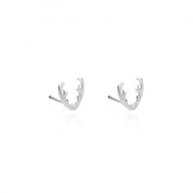 Antler Christmas - Stud Earrings