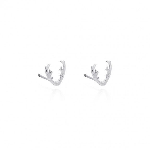 Antler Christmas - Stud Earrings