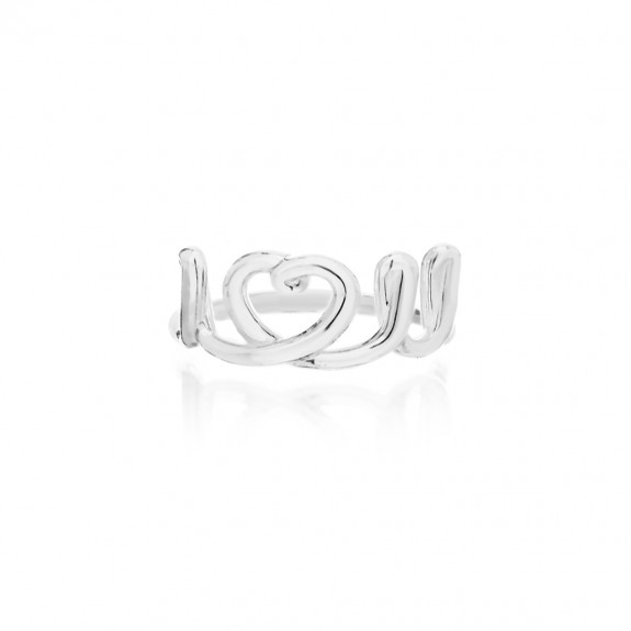"""I Love You"" 'Handwritten' Ring"