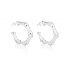 Bamboo Earrings - Large - EA010290059