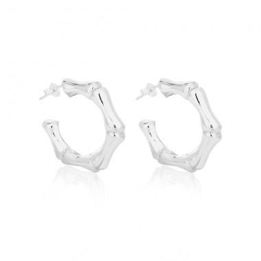 Bamboo Earrings - Large - EA010290059