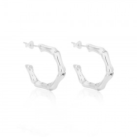 Bamboo Earrings - Medium - EA010290062