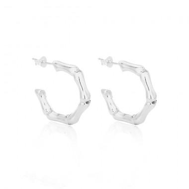 Bamboo Earrings - Medium - EA010290062
