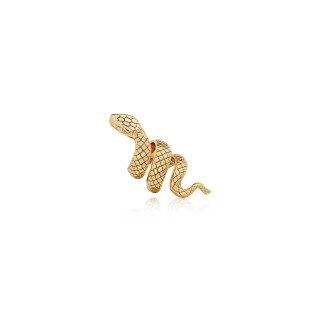 The Giant Serpent Ring -52 mm. (Electroform) / Gold Plating