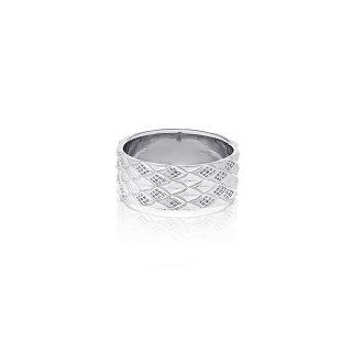 The Serpent Scale Ring -9 mm.