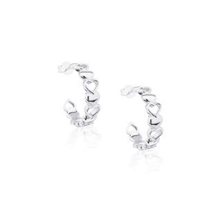 Mini Hearts Earrings
