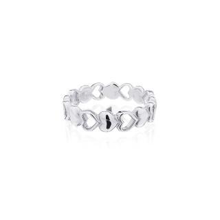 Mini Hearts Ring