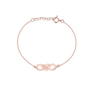 'Eternal Heart Bracelets' Pure Pink