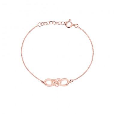 'Eternal Heart Bracelets' Pure Pink