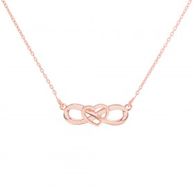 'Eternal Heart Necklaces' PurePink