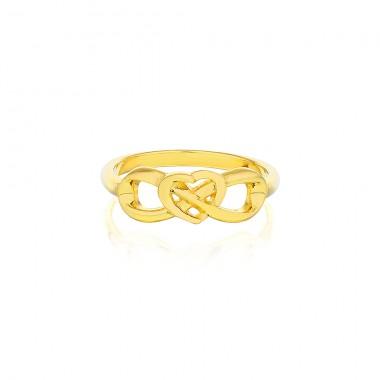 'Eternal Heart Ring' Gold