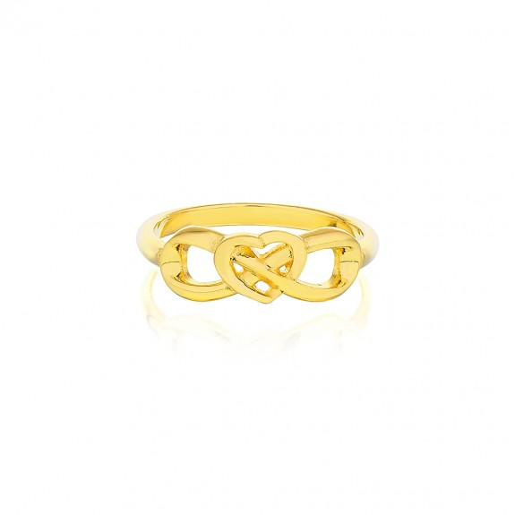 'Eternal Heart Ring' Gold