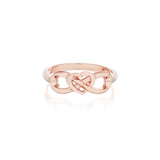 'Eternal Heart Ring' PurePink