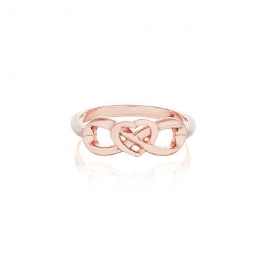 'Eternal Heart Ring' PurePink