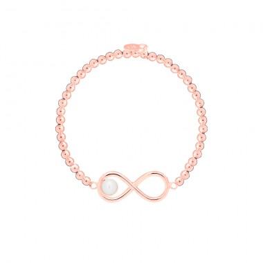 """Infinity Pearl"" Bracelet Elastic Ball"