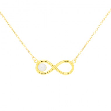 """""""Infinity Pearl"""" Necklace"""