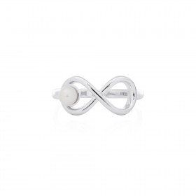"""Infinity Pearl"" Ring"