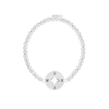 Compass Collection - Ball Elastic Bracelet