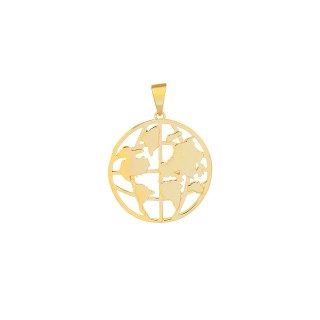 World Map Series 2.0 /Large Pendant