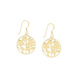 World Map Series 2.0 /Medium Earrings