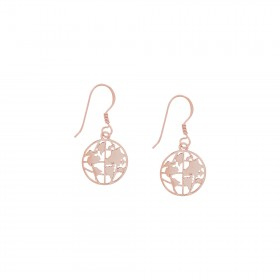 World Map Series 2.0 /Small Earrings