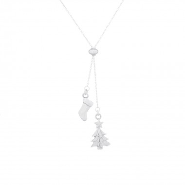 X'mas Tree & Sock-Necklace