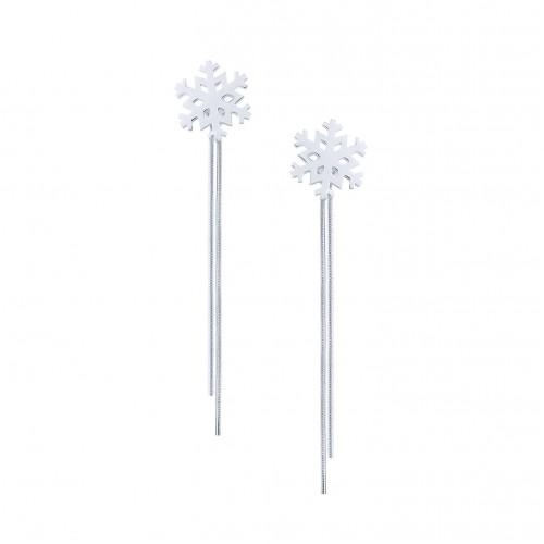Snowflake Earrings (stud)