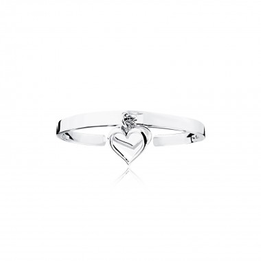 Double Hearts-Bangle
