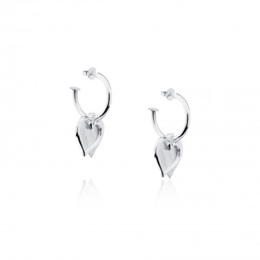Double Hearts-Earrings
