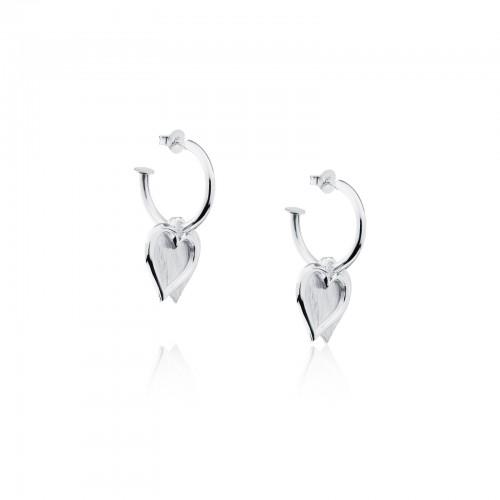 Double Hearts-Earrings