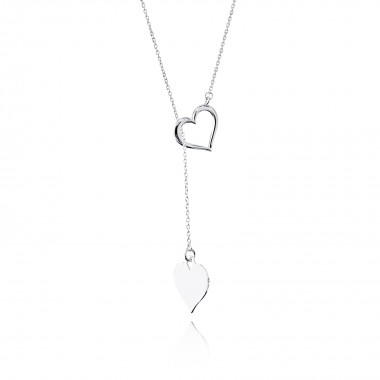 Double Hearts-Necklace