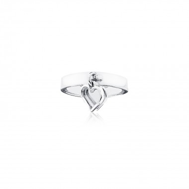 Double Hearts-Ring