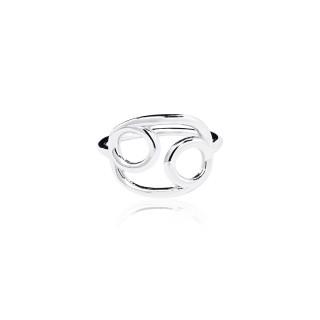 Cancer - Zodiac Stars Ring