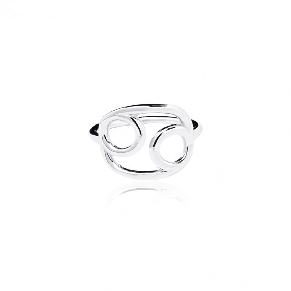 Cancer - Zodiac Stars Ring