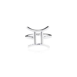 Gemini - Zodiac Stars Ring
