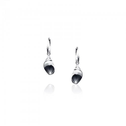 Drill - Hoop Earrings