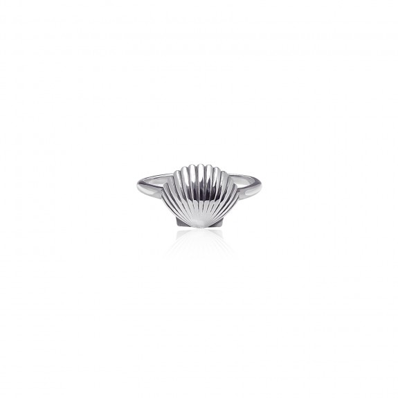 Scallop - Band Ring