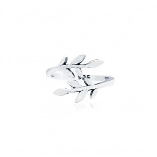 Olive Leaf - Open Ring