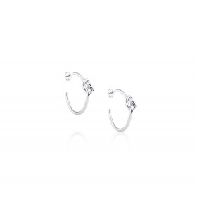 Love Knot / Earrings C-shape 1.8x25 mm.