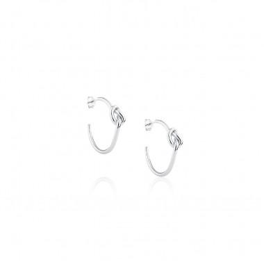Love Knot / Earrings C-shape 1.8x25 mm.