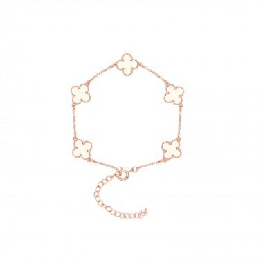 Clover Leaf-Bracelet / Enamel