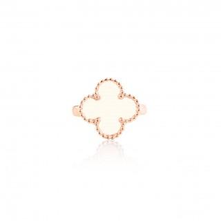 Clover Leaf-Ring / Enamel